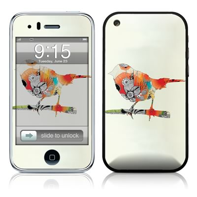 iPhone 3G Skin - Little Bird