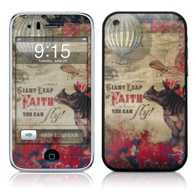 iPhone 3G Skin - Leap Of Faith