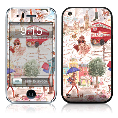 iPhone 3G Skin - London