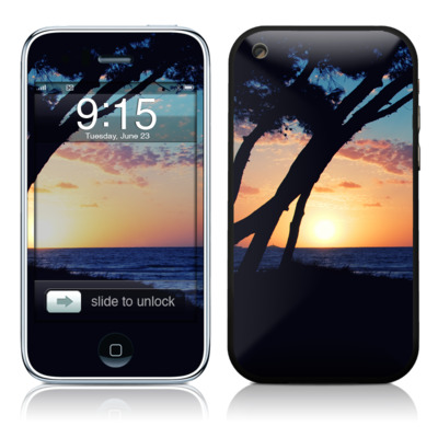 iPhone 3G Skin - Mallorca Sunrise