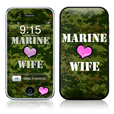 iPhone 3G Skin - Marine Wife