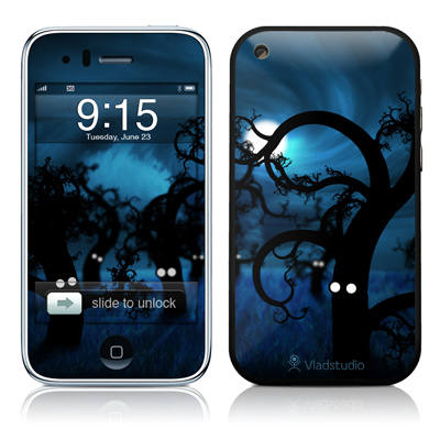iPhone 3G Skin - Midnight Forest