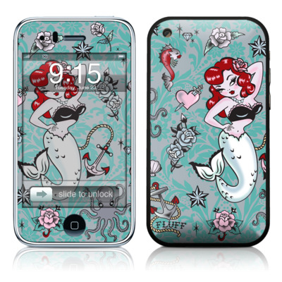 iPhone 3G Skin - Molly Mermaid