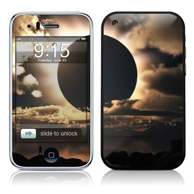 iPhone 3G Skin - Moon Shadow