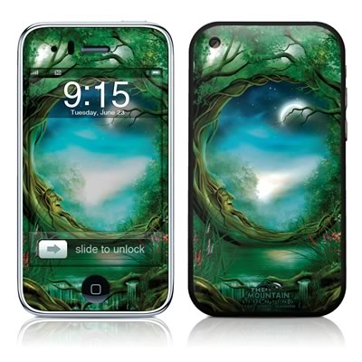 iPhone 3G Skin - Moon Tree