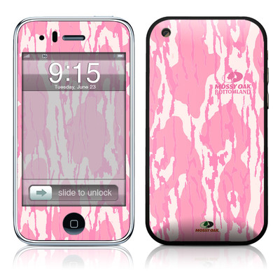 iPhone 3G Skin - New Bottomland Pink