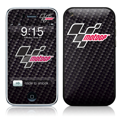 iPhone 3G Skin - MotoGP Carbon Logo