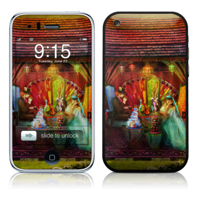 iPhone 3G Skin - A Mad Tea Party