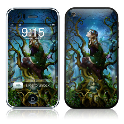 iPhone 3G Skin - Nightshade Fairy