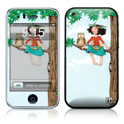 iPhone 3G Skin - Never Alone