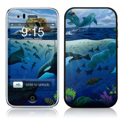 iPhone 3G Skin - Oceans For Youth