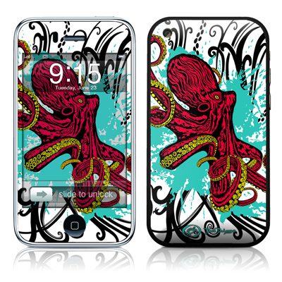 iPhone 3G Skin - Octopus