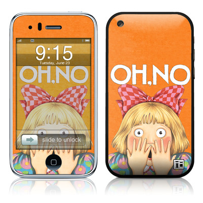 iPhone 3G Skin - Oh No