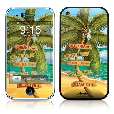 iPhone 3G Skin - Palm Signs