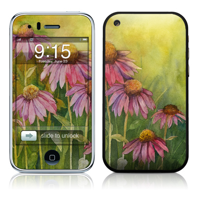 iPhone 3G Skin - Prairie Coneflower