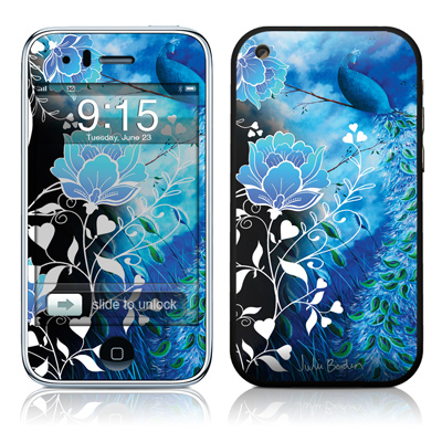 iPhone 3G Skin - Peacock Sky