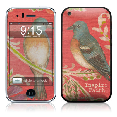 iPhone 3G Skin - Fresh Picked Fuschia