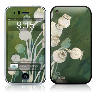 iPhone 3G Skin - Poppy Pods