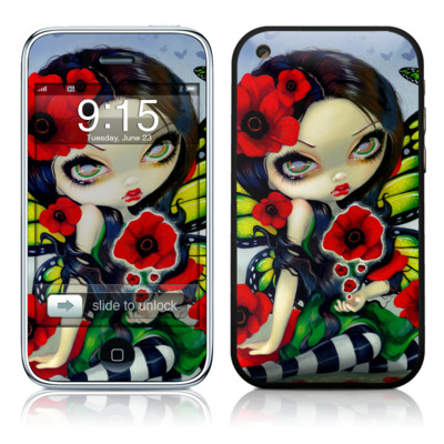 iPhone 3G Skin - Poppy Magic