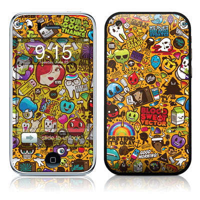 iPhone 3G Skin - Psychedelic