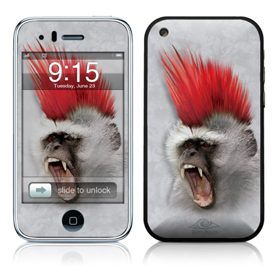 iPhone 3G Skin - Punky