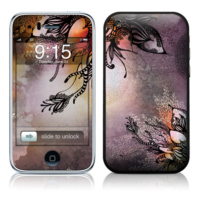 iPhone 3G Skin - Purple Rain
