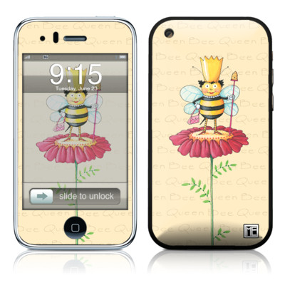 iPhone 3G Skin - Queen Bee