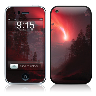 iPhone 3G Skin - Red Harbinger