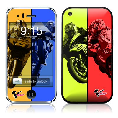 iPhone 3G Skin - Race Panels