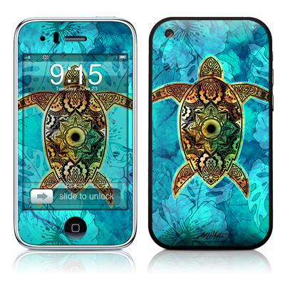 iPhone 3G Skin - Sacred Honu