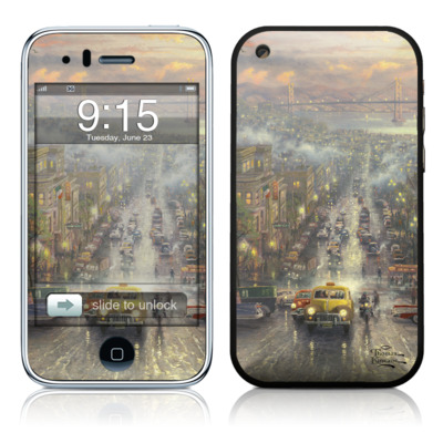 iPhone 3G Skin - Heart of San Francisco