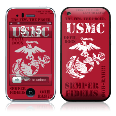 iPhone 3G Skin - Semper Fi