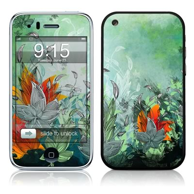 iPhone 3G Skin - Sea Flora