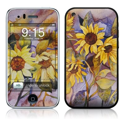 iPhone 3G Skin - Sunflower