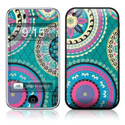 iPhone 3G Skin - Silk Road