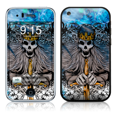 iPhone 3G Skin - Skeleton King