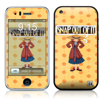 iPhone 3G Skin - Snap Out Of It