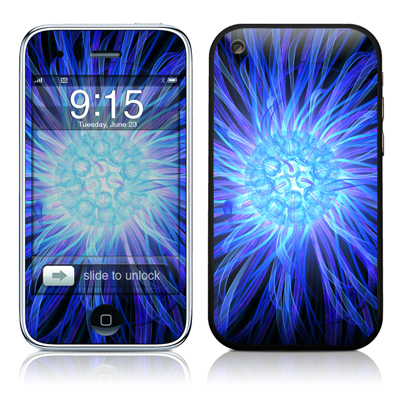 iPhone 3G Skin - Something Blue