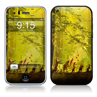 iPhone 3G Skin - Secret Parade