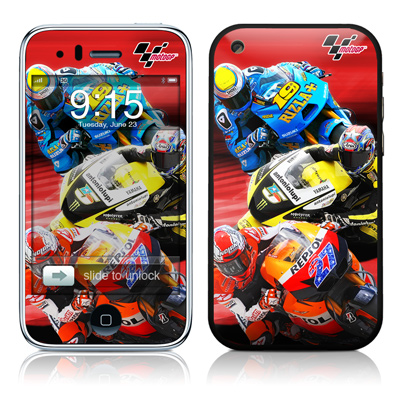 iPhone 3G Skin - Speed Collage