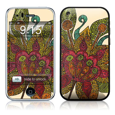 iPhone 3G Skin - Spring Flower