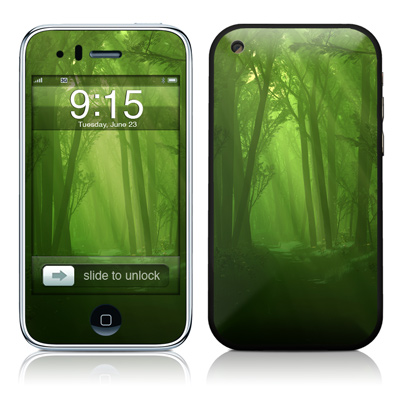 iPhone 3G Skin - Spring Wood