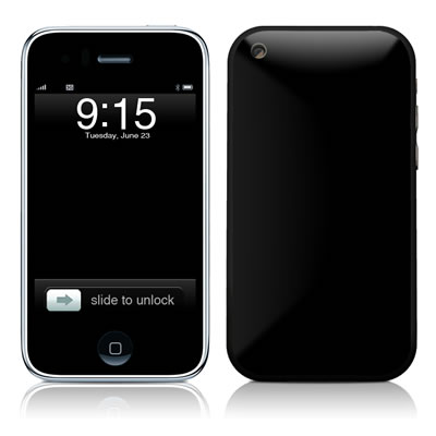 iPhone 3G Skin - Solid State Black