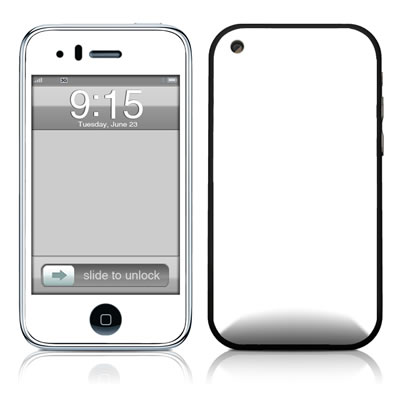 iPhone 3G Skin - Solid State White