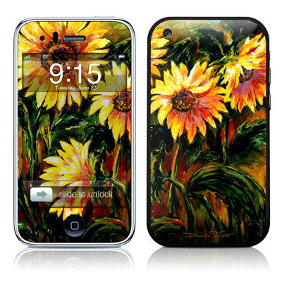 iPhone 3G Skin - Sunflower Sunshine