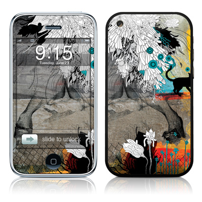 iPhone 3G Skin - Stay Awhile