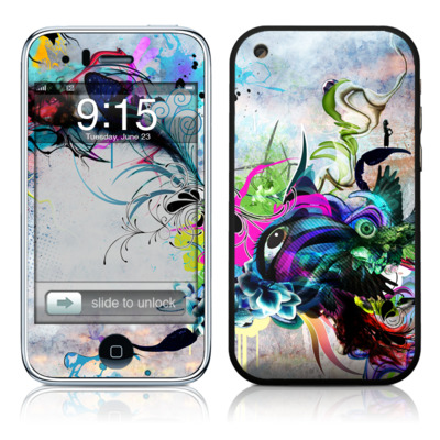 iPhone 3G Skin - Streaming Eye