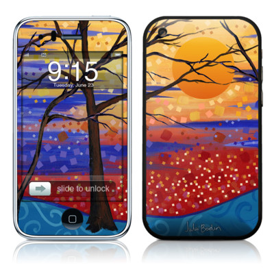iPhone 3G Skin - Sunset Moon