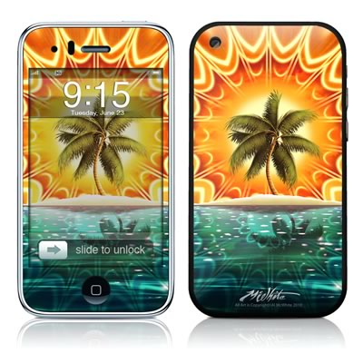 iPhone 3G Skin - Sundala Tropic