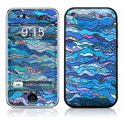 iPhone 3G Skin - The Blues